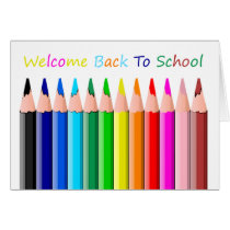 Welcome Back To School ! Card