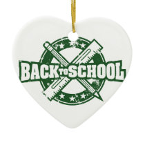 Welcome Back To School Ceramic Ornament