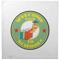 Welcome Back To School Cloth Napkin