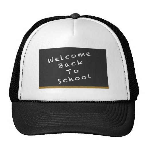 Welcome Back To School hat