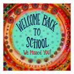 """""""Welcome Back to School"""" Inspirivity Poster"""
