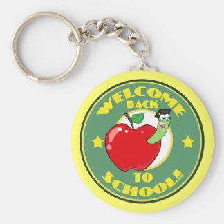 Welcome Back to School Keychains