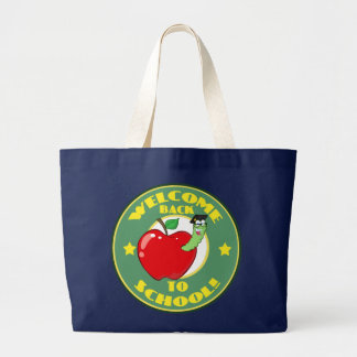 Welcome Back to School Large Tote Bag
