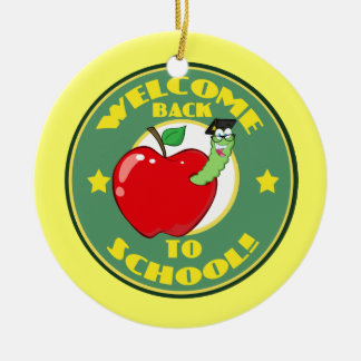 Welcome Back to School Christmas Tree Ornaments
