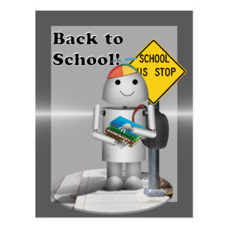 Welcome Back to School! Postcard