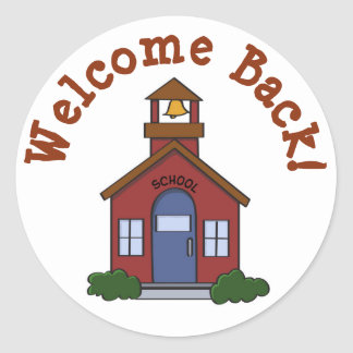 Welcome Back to School Sticker