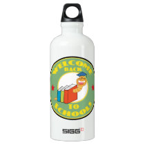 Welcome Back To School Water Bottle