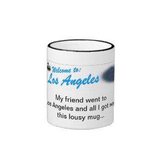 Welcome Banner Ringer Mug