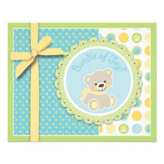 Welcome Bear Advice Card Flyers