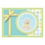 Welcome Bear Card 2 Custom Announcement