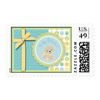 Welcome Bear Stamp 2