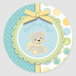 Welcome Bear Sticker