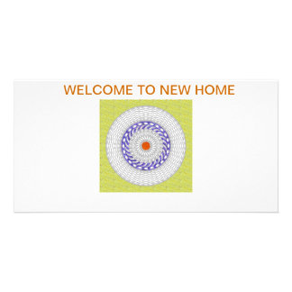 .Welcome card