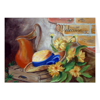 Welcome - card