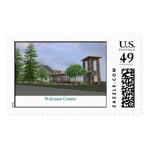Welcome Center Postage