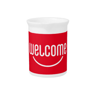 Welcome Drink Pitcher