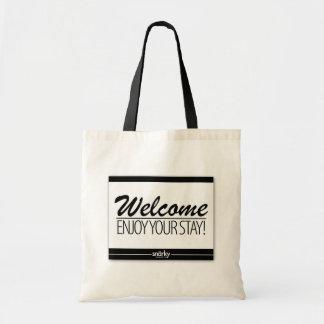 Welcome Enjoy Your Stay Doormat Tote Bag