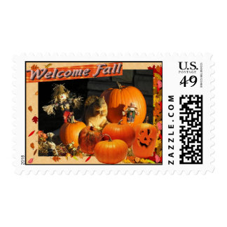 Welcome Fall Postage
