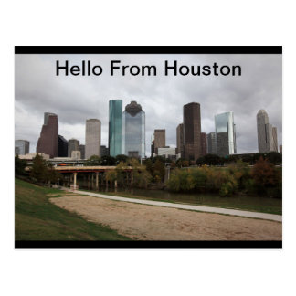 Welcome From Houston, Texas Postcard