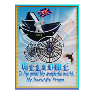 WELCOME-George Alexander Louis-text Poster