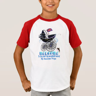 WELCOME-George Alexander Louis-text T-Shirt