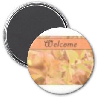 welcome harvest magnet