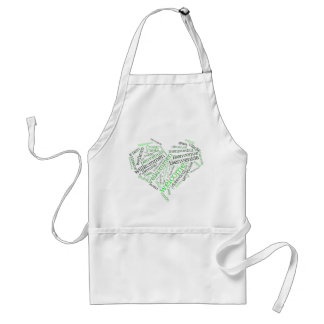 Welcome Heart (many languages) Apron