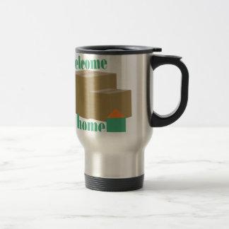 Welcome Home 15 Oz Stainless Steel Travel Mug