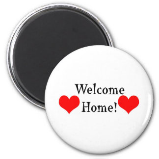 Welcome Home 2 Inch Round Magnet