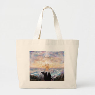 Welcome Home 2 Large Tote Bag