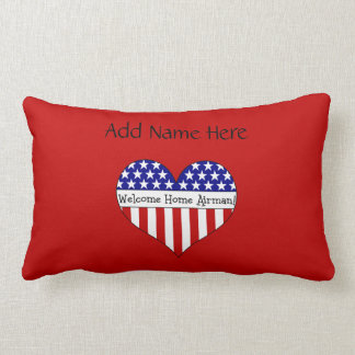 Welcome Home Airman! Pillow