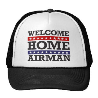 Welcome Home Airman Trucker Hat