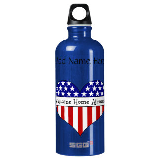 Welcome Home Airman! Water Bottle