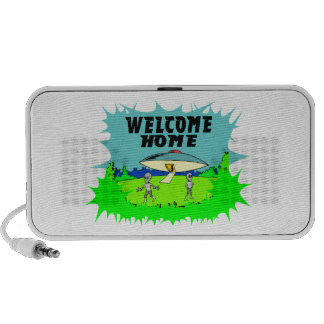 Welcome Home Aliens Mp3 Speakers