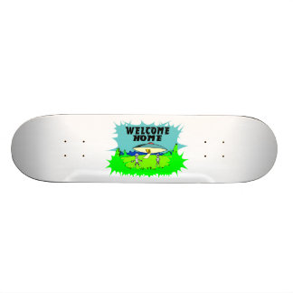 Welcome Home Aliens Skateboard