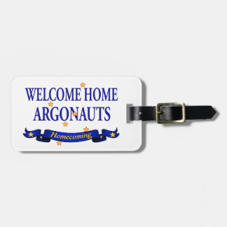 Welcome Home Argonauts Luggage Tag