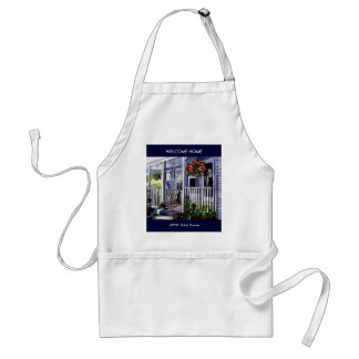 WELCOME HOME,  ARTIST: Robin Rosner, WELCOME HOME Aprons