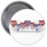 Welcome Home Balloons Button
