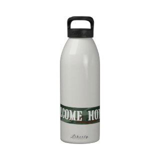 Welcome Home Banner Drinking Bottles