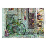 """Welcome Home"" Bicycle Art Card"