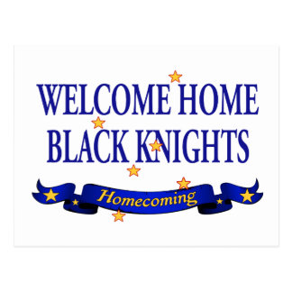 Welcome Home Black Knights Postcard