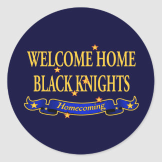 Welcome Home Black Knights Stickers