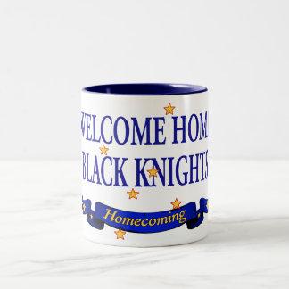 Welcome Home Black Knights Two-Tone Coffee Mug