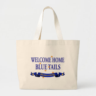 Welcome Home Blue Tails Bag