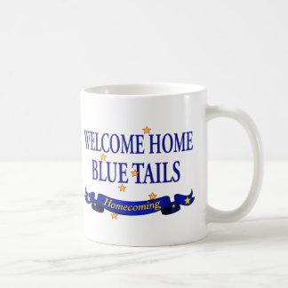 Welcome Home Blue Tails Coffee Mug