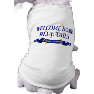 Welcome Home Blue Tails Tee
