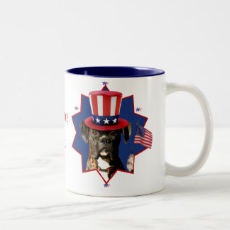 Welcome Home Boxer Dog mug