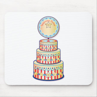 Welcome Home Cake Template Mouse Pad