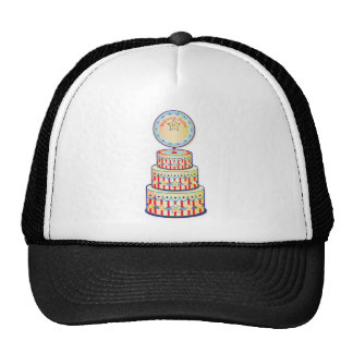 Welcome Home Cake Template Trucker Hat
