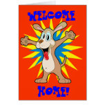 WELCOME, HOME! card